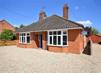 Thumbnail 4 bedroom detached bungalow for sale in Norwich Road, Watton, Thetford