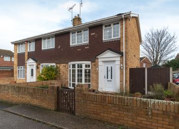 Thumbnail 3 bed semi-detached house for sale in Briary Close, Margate