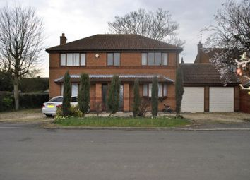 Thumbnail 4 bed detached house for sale in Gorse Lane, Leicester
