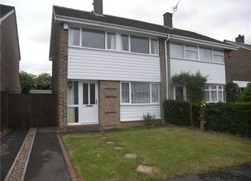 Thumbnail 3 bed semi-detached house to rent in Heronswood Drive, Spondon, Derby