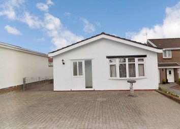 Thumbnail 2 bed detached bungalow for sale in Glynbridge Gardens, Bridgend