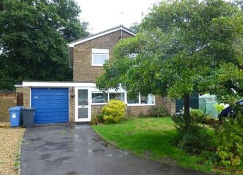 Thumbnail 4 bed link-detached house to rent in Newlands Close, Yateley