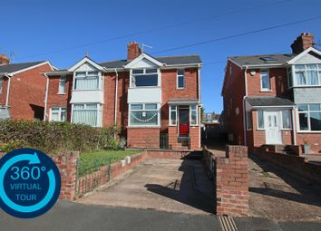 Thumbnail 4 bed semi-detached house for sale in Chard Road, Exeter