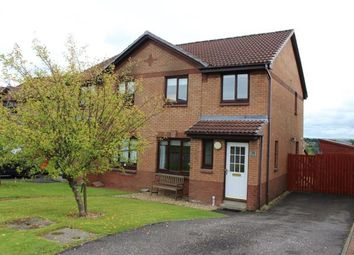 Thumbnail 3 bed semi-detached house for sale in Cathkin Crescent, Carrickstone, Cumbernauld, North Lanarkshire