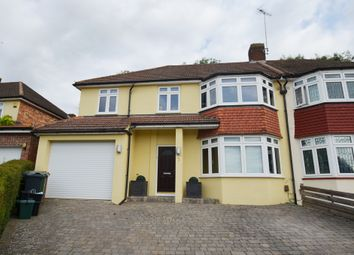 Thumbnail 3 bed semi-detached house for sale in Hillview Close, Tadworth