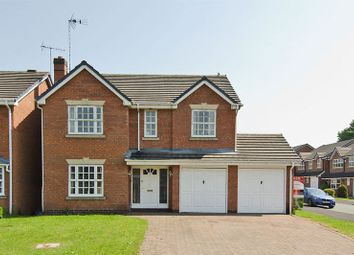 Thumbnail 4 bed detached house for sale in Croxley Drive, Hednesford, Cannock
