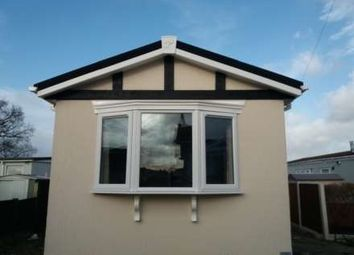 Thumbnail 1 bed mobile/park home for sale in Willow Park, Gladstone Way, Mancot, Deeside