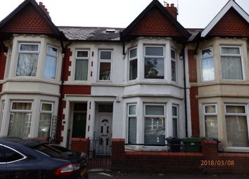 Thumbnail 4 bed terraced house to rent in New Zealand Road, Cardiff