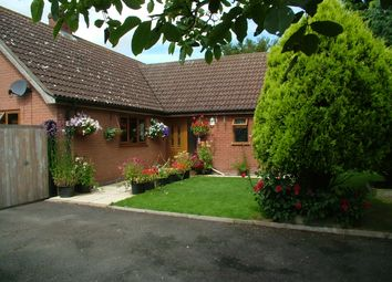 Thumbnail 3 bed detached bungalow for sale in Tabernacle Lane, Forncett St. Peter, Norwich
