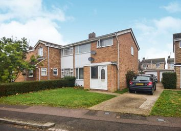 3 bed semi-detached house for sale in Chantry Avenue, Kempston, Bedford MK42