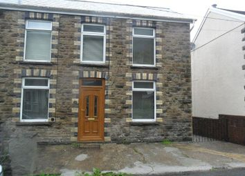 Thumbnail 3 bedroom semi-detached house to rent in Edward Street, Alltwen, Pontardawe, Swansea.