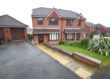 Thumbnail 3 bedroom semi-detached house to rent in Gresley Avenue, Horwich, Bolton