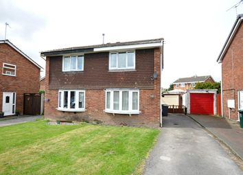 Thumbnail 2 bed semi-detached house for sale in The Pastures, Newhall, Swadlincote