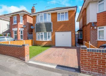 Thumbnail 3 bed detached house for sale in King George Avenue, Moordown, Bournemouth