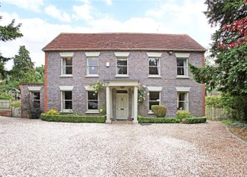 Thumbnail 6 bed detached house for sale in Marlston Road, Hermitage, Thatcham, Berkshire