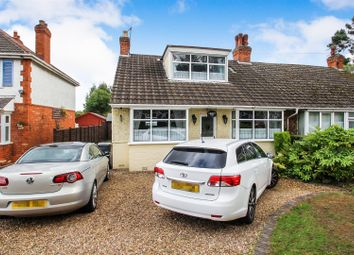 Thumbnail 3 bed semi-detached bungalow for sale in Loughborough Road, Birstall, Leicester