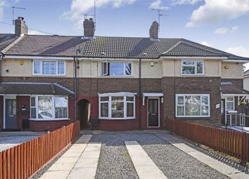 Thumbnail 2 bed terraced house for sale in Cranbrook Avenue, Endike Lane, Hull