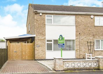 Thumbnail 2 bed semi-detached house for sale in Lancaster Way, Glen Parva, Leicester