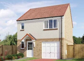 "Thumbnail 3 bed detached house for sale in ""The Fortrose"" at South Gyle Wynd, Edinburgh"