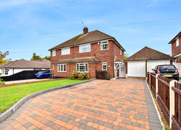 Thumbnail 3 bed semi-detached house for sale in Wilmington Court Road, Wilmington, Kent