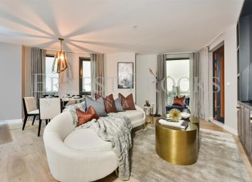 Thumbnail 2 bedroom flat for sale in Roosevelt Tower, 18 Williamsburg Plaza, Canary Wharf