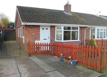 Thumbnail 2 bed semi-detached bungalow for sale in Hambleton View, Tollerton, York