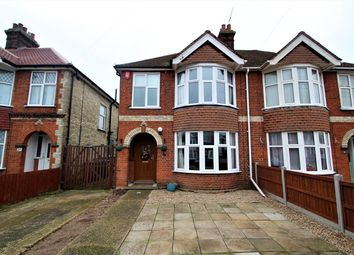 Thumbnail 3 bed semi-detached house for sale in Elmhurst Drive, Ipswich