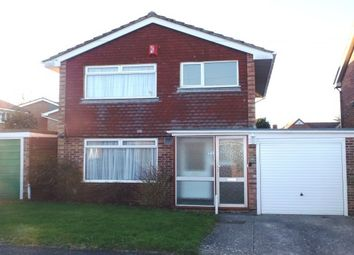 Thumbnail 3 bed detached house to rent in Peartree Close, Stubbington, Fareham