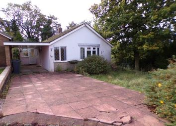 Thumbnail 2 bed bungalow for sale in Russett Close, Walsall