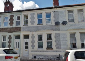 Thumbnail 2 bed terraced house to rent in Railway Street, Splott, Cardiff