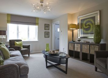 """Thumbnail 3 bed terraced house for sale in """"Forbes"""" at Newbarns, Urquhart Road, Oldmeldrum, Inverurie"""
