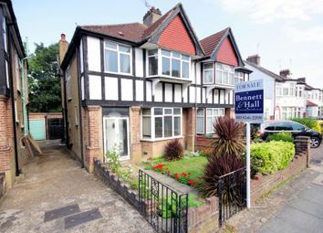 Thumbnail 3 bed semi-detached house for sale in Wentworth Avenue, Finchley