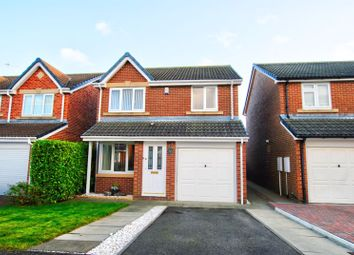 Thumbnail 3 bed detached house for sale in Hedgefield Grove, South Beach Estate, Blyth