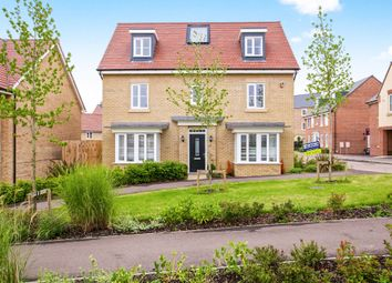 Thumbnail 5 bedroom detached house for sale in St Peters Lane, Papworth Everard, Cambridge
