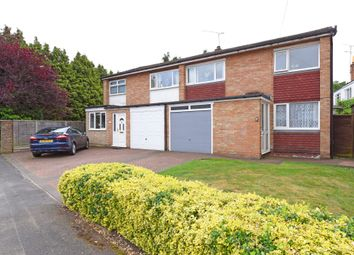 Thumbnail 3 bed semi-detached house for sale in The Glebe, Blackwater, Camberley