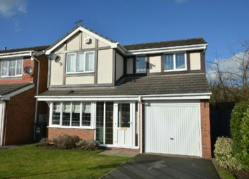 Thumbnail 4 bed detached house for sale in Radnor Court, Narborough, Leicester