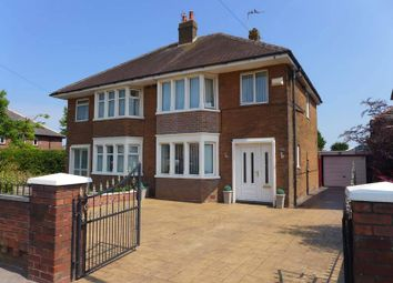 Thumbnail 3 bed semi-detached house for sale in Fleetwood Road North, Thornton-Cleveleys