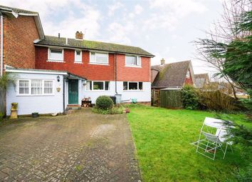 Thumbnail 4 bed semi-detached house for sale in Greenacres, Westfield, East Sussex
