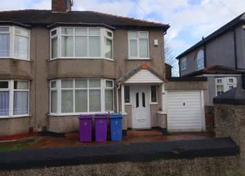 Thumbnail 3 bed semi-detached house for sale in Oakfield, Liverpool, Mersyside