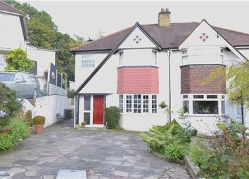 Thumbnail 3 bed semi-detached house for sale in Famet Avenue, Purley, Surrey