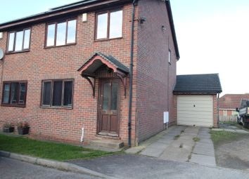 Thumbnail 3 bed terraced house for sale in Leeholme Court, Stanley, Durham