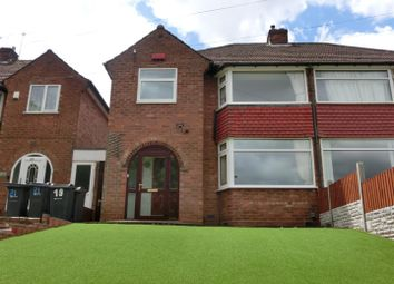 Thumbnail 3 bed semi-detached house for sale in New Coventry Road, Sheldon, Birmingham
