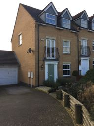 Thumbnail 4 bed end terrace house for sale in Romulus Close, Wootton, Northampton
