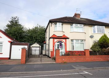 Thumbnail 3 bed semi-detached house for sale in Marina Crescent, Liverpool