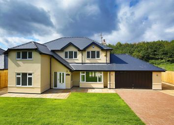 Thumbnail 4 bedroom detached house for sale in Bridge Road, Old St. Mellons, Cardiff