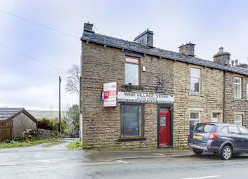 Thumbnail 1 bedroom end terrace house to rent in Burnley Road, Weir, Bacup