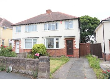 Thumbnail 3 bedroom semi-detached house for sale in Turls Hill Road, Dudley