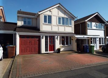 Thumbnail 5 bedroom detached house for sale in Otterburn Close, Cannock, Staffordshire