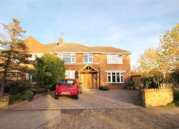 Thumbnail 6 bed semi-detached house for sale in Sunna Gardens, Lower Sunbury, Middlesex
