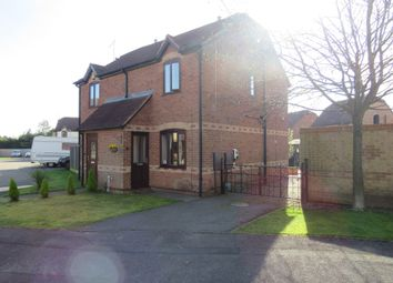 Thumbnail 2 bed semi-detached house for sale in Roewood Close, Kirkby-In-Ashfield, Nottingham